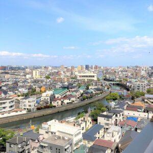 蒲田サロンからの眺め